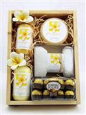 Colonial Girl Frangipani & Chocolates Gift Set - Large from: AU$95.00
