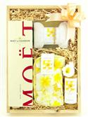 Colonial Girl Frangipani Champagne Luxury Set from: AU$155.00