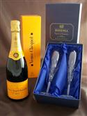 Veuve Clicquot & Bohemia Crystal Champagne Flutes from: AU$169.00