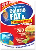 Calorieking Calorie, Fat & Carb Counter 2011 Edition 1930448339  from: USD$7.98
