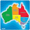 Map Of Australia Puzzle 7 Piece  from: AU$35.95