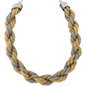 Kenneth Jay Lane Mesh Twist Necklace  from: USD$70.00