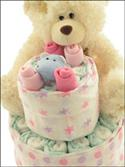 Deluxe Nappy Cake from: AU$83.50