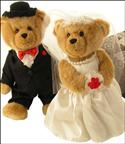 Mr & Mrs Bear Gift Basket from: AU$65.50