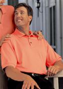 Gold Big Mens 100% Double-mercerized Cotton Baby Pique Polo Golf Shirt  from: USD$43.99