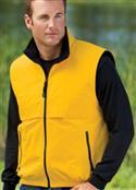 Nylon And Fleece Vest By Port Authority Big Mens Reversible Terra-tek  from: USD$43.99