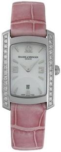 Baume And Mercier Hampton Milleis Diamond Pink Ladies` Watch 8683  from: USD$2,734.26