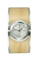 Fossil Dress Collection Lucy Horn Enamel White Dial Women`s Watch #es2485  from: USD$64.36
