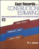 Cost Records For Construction Estimating  from: US14.95