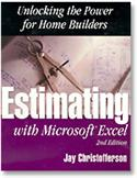 Estimating With Microsoft Excel  from: US35.95