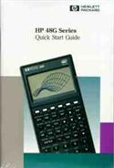 Hewlett Packard Hp-48g Series Calculator Manual And Quick Start Guide  from: US29.95