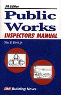 Public Works Inspector`s Manual  from: US63.71
