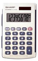 Sharp El-243sb Basic Dual-powered Large Display Calculator With Hard Cover  from: US4.95