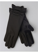 Catherines Women`s Plus Size/black Isotoner Long Ruched Gloves - Size One  from: USD$28.00