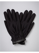 Catherines Women`s Plus Size/black Trimmed Stretch Gloves - Size One  from: USD$28.00