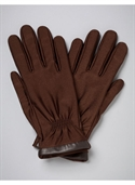 Catherines Women`s Plus Size/brown Trimmed Stretch Gloves - Size One  from: USD$28.00