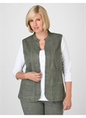 Catherines Women`s Plus Size/dark Olive Natural Denim Vest - Size 3x  from: USD$43.50