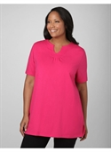 Catherines Women`s Plus Size/imperial Purple, Fiesta Pink It Had To Be U Tee -  from: USD$21.97