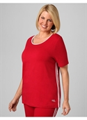 Catherines Women`s Plus Size/jester Red Marathon Active Tee - Size 0x  from: USD$13.97