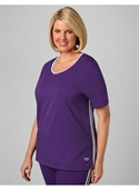 Catherines Women`s Plus Size/petunia Marathon Active Tee - Size 1x  from: USD$15.97