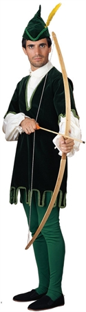 Adult Deluxe Robin Hood Costume W/ Trimmed Tunic - Large  from: USD$169.94