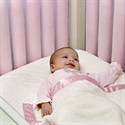 Go Mama Baby Basics Toddler Blanket - Pink/cream  from: USD$29.98