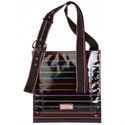 Hadaki Printed Scoop Sling Purse - Pencil Stripes Berry  from: USD$40.00