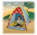Starburst Nursery Tent W/ Carry Bag By Pacific Play Tents  from: USD$39.95