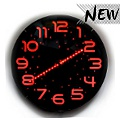 Twilight Stunning Analog Red Led Wall Clock 30cm  from: AU$54.95