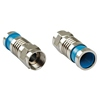Platinum Tools Type F Rg6 Quad Compression Connector, Nickel Plate  from: USD$0.58