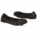 Dr. Scholl`s Womens Burnett Shoes (black Satin Fabric)  from: USD$38.99