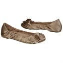 Dr. Scholl`s Womens Burnett Shoes (tan Satin Fabric)  from: USD$38.99