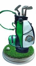 Desk Top Pen Set Clock In A Golf Club Bag  from: AU21.95