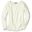 Eddie Bauer Crewneck Sweatshirt Sweater, Ivory L Petite  from: USD$11.98