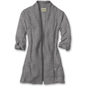 Eddie Bauer Jasp Open Cardigan, Medium Heather Gray S Regular  from: USD$59.95