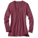 Eddie Bauer V-neck Sweatshirt Sweater, Oldrose S Regular  from: USD$39.99