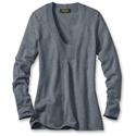 Eddie Bauer V-neck Sweatshirt Sweater, Storm Heather M Regular  from: USD$39.99