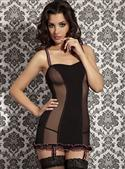 Passion Blanca Chemise In Black/pink  from: US57.95