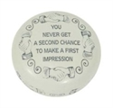 Baekgaard You Never Get A Second Chance Paperweight  from: USD$25.00