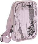 Ed Hardy Gina Side Messenger Pink Frost  from: USD$36.00