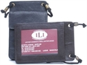 Ili Leather North/south Id Holder With Zippered Pocket  from: USD$20.00