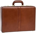 Mcklein V Series Harper Leather Expandable Attache Case  from: USD$150.00