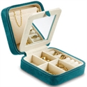 Mini Suede Cloth Jewel Box Teal  from: USD$14.95