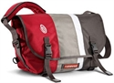Timbuk2 D-lux Messenger Rev Red / Cement Wht