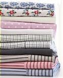 Flannelette Sheet Set - Taupe Stripe - Single from: AU$39.95