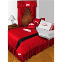 Arkansas Razorbacks Queen Size Sideline Bedroom Set  from: USD$289.95