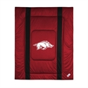 Arkansas Razorbacks Twin Size Sideline Comforter  from: USD$84.95