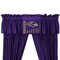 "Baltimore Ravens 88"" X 14"" Window Valance  from: USD$29.95"