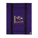 Baltimore Ravens Queen/full Size Sideline Comforter  from: USD$94.95
