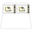Baltimore Ravens Queen Size Sheet Set  from: USD$59.95